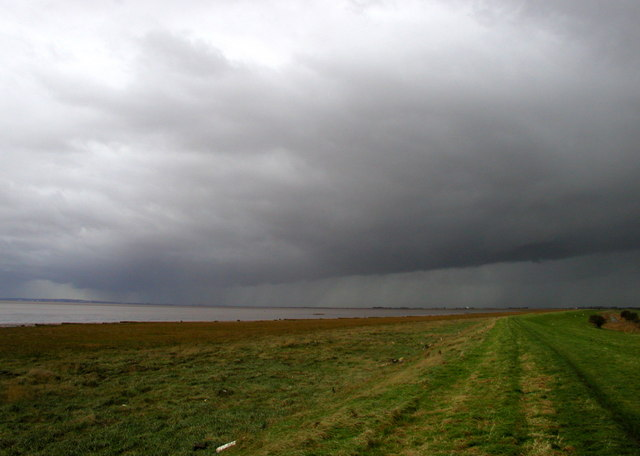 Storm Clouds Brewing over Burstall Bank