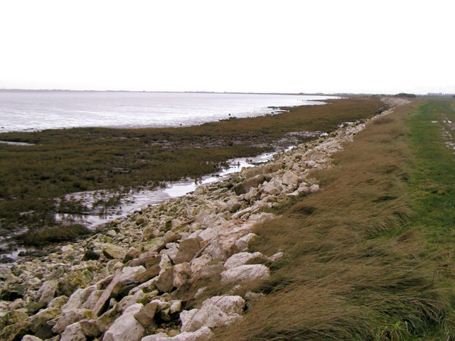 View westwards from Easington Bank
