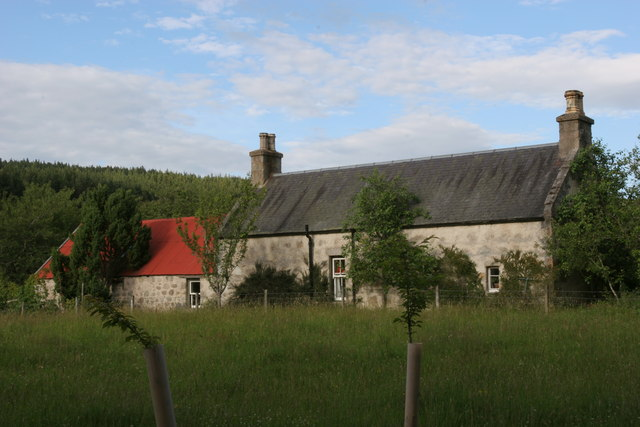 Torniscar Cottage looking east