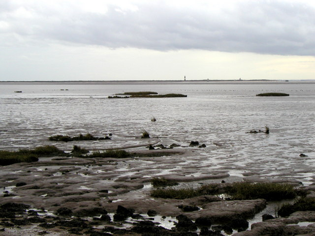 The view across Kilnsea Clays to Spurn Point
