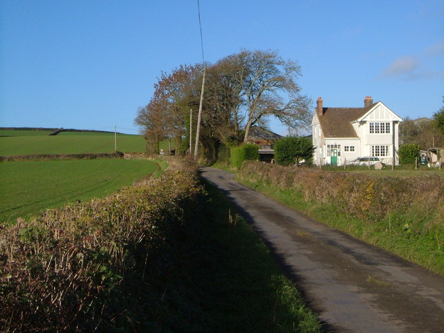 Lane past Greystone