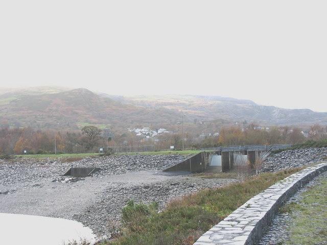 The Afon y Bala Dam