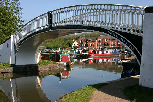 Entrance to Braunston Marina