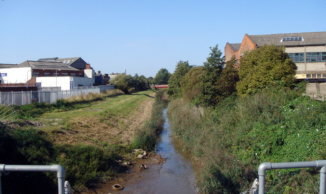 Beverley and Barmston Drain at High Flags Outfall