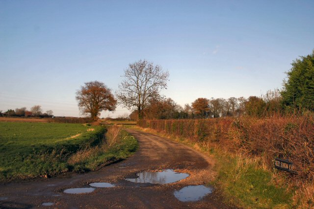 Track to Red Barn Farm