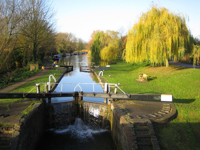 Grand Union Canal: Lock Number 53 in Berkhamsted