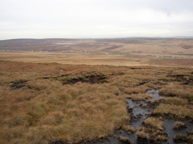 View from Moss Moor Edge, Rishworth