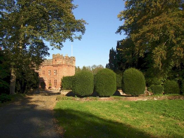 Approach to Newbiggin Hall
