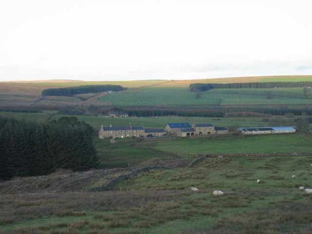 Watergate Farm, near Wark