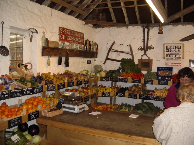 Great Park Farm Shop Interior, near Catsfield