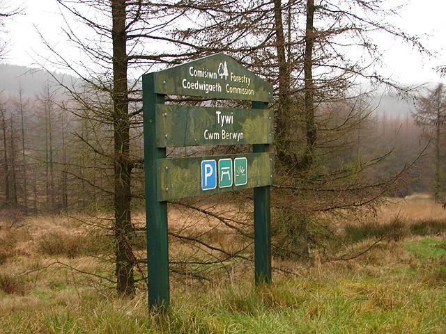 Forestry Commission, Tywi - Cwm Berwyn