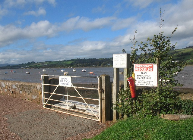 Slipway on the River Teign