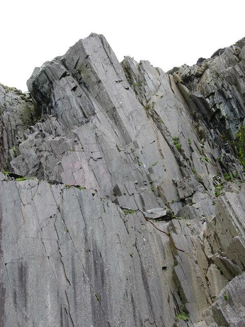 Rock Face at Ponc Lernion
