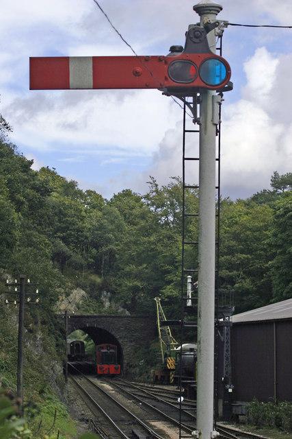 Haverthwaite Steam Railway, Old Signal