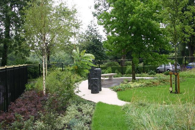 The Japanese Gardens, Runcorn Town Hall