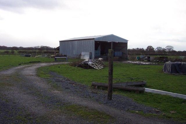Barn near Glebe Farm
