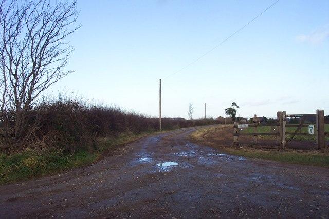 Lane to Marston Grange