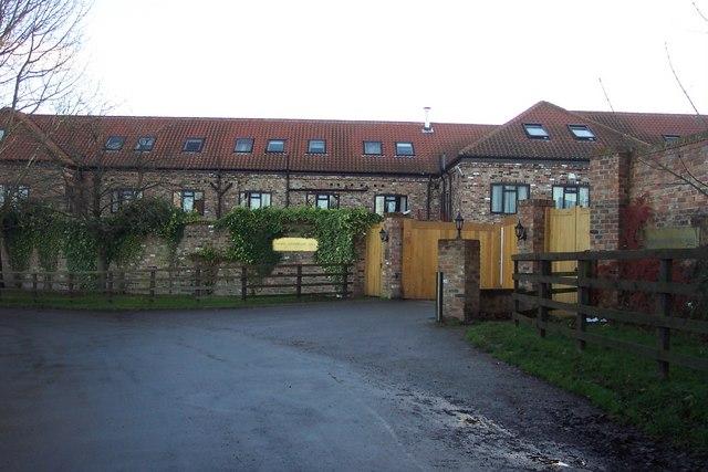 Entrance to Queen Ethelburga's College