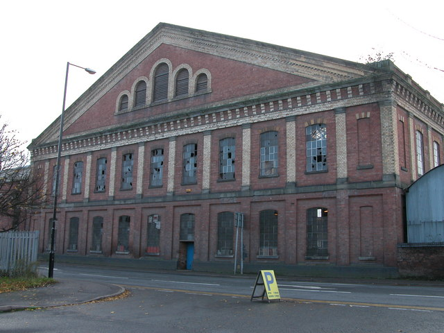 The Great Filling Hall, Pheasant Street, Worcester