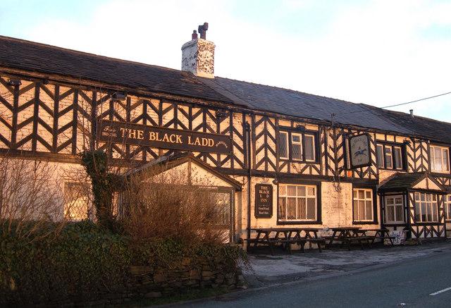 The Black Ladd Inn, Shaw