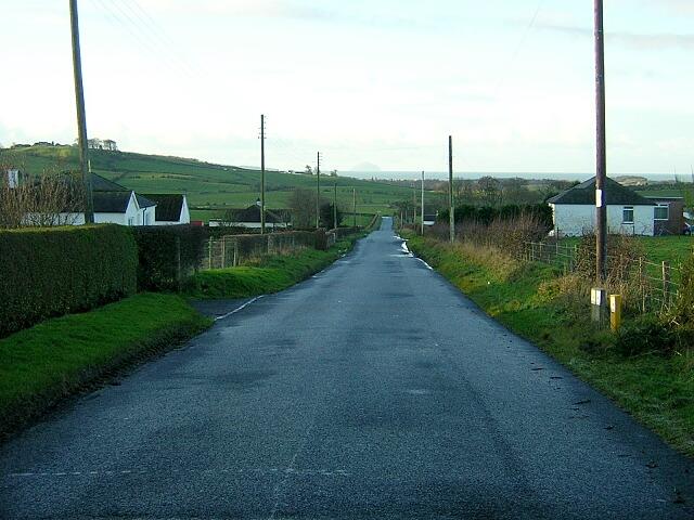 Minor Road Near Laigh Langside