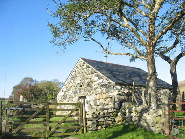 A converted barn at Pant Glas Uchaf
