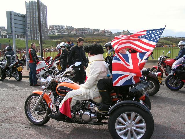 Elvis rides again!