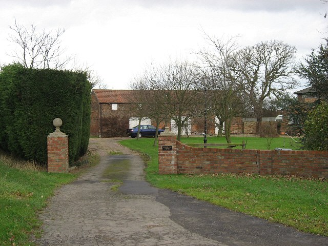 The Entrance To Braygate House