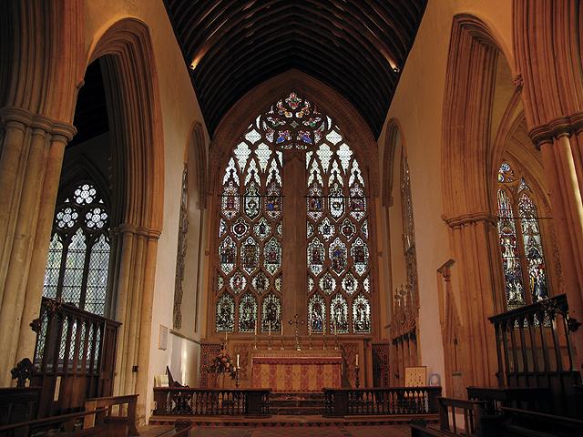 Interior: Dorchester Abbey