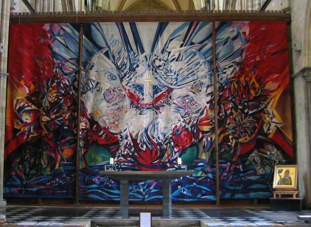 Tapestry in Chichester Cathedral