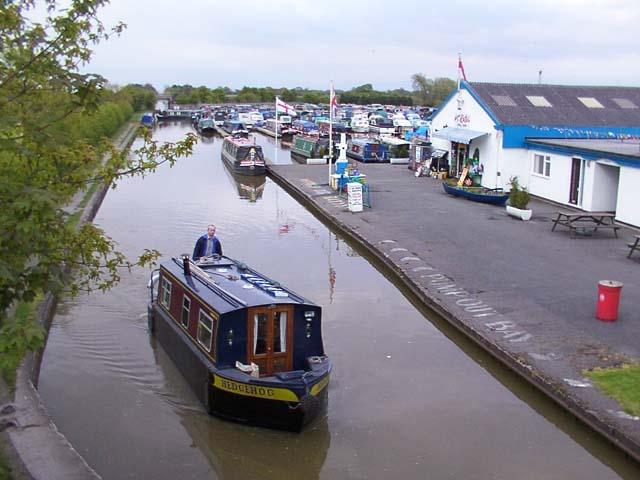 Venetian Marina, Shropshire Union Canal
