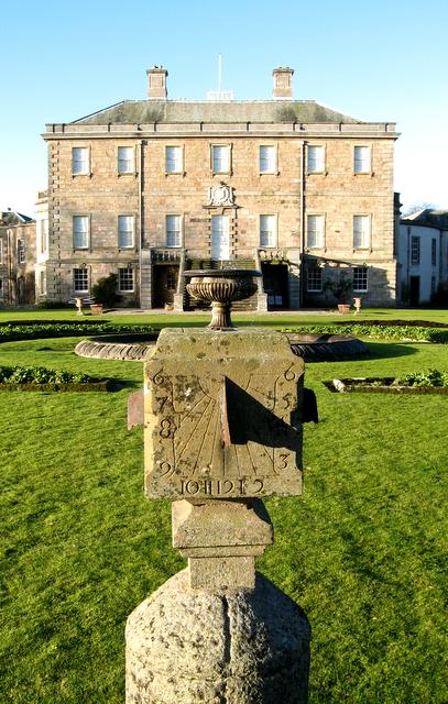 Haddo House sundial