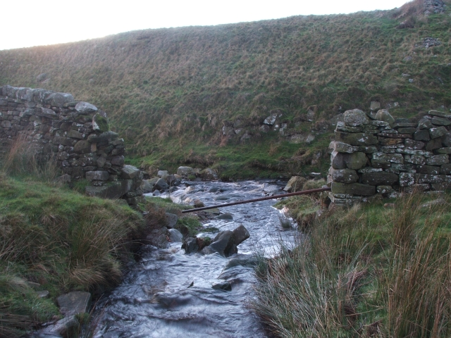 Hazel Gill Meets Grimwith Beck.