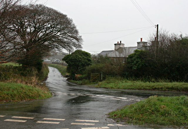 Road Junction at Amy Tree