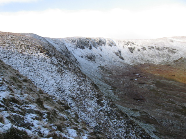 Balcnock crags and Coire Cuinne