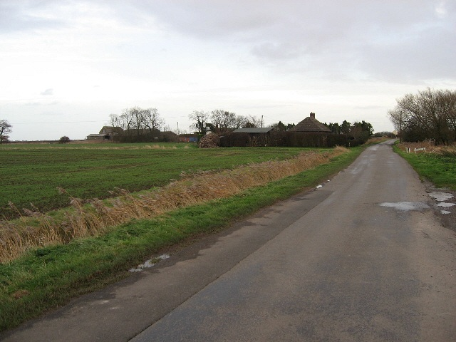 The Road To Saltfleetby St. Peter