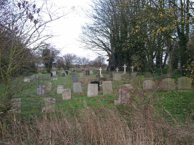 The Graveyard Of St. Peter's Church