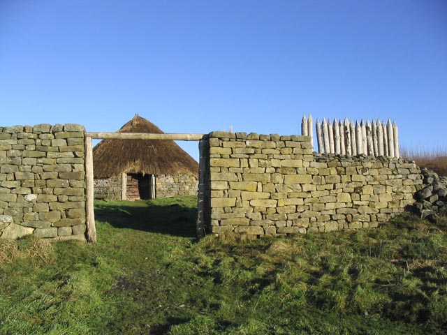 Woolaw enclosed farmstead at Brigantium