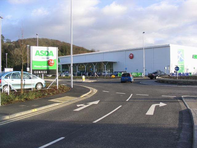 The new ASDA superstore in Galashiels