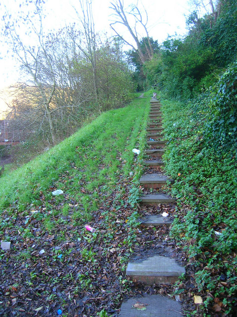 Steps to Undercliff House