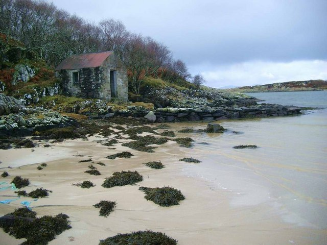 Jetty with fisherman's bothy