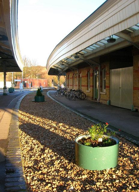 Former Platforms, Lewes Station