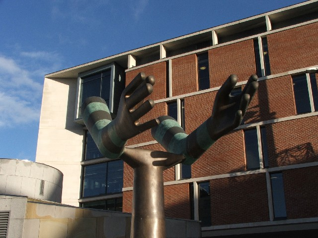 The Both Arms Statue