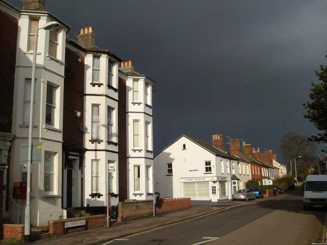 Old Tiverton Road , Exeter