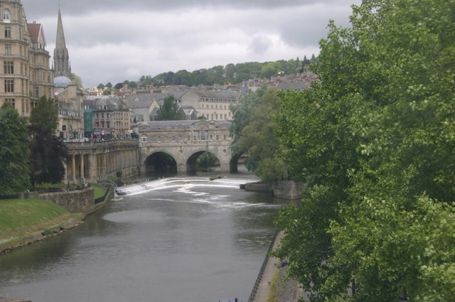 The river Avon at Bath