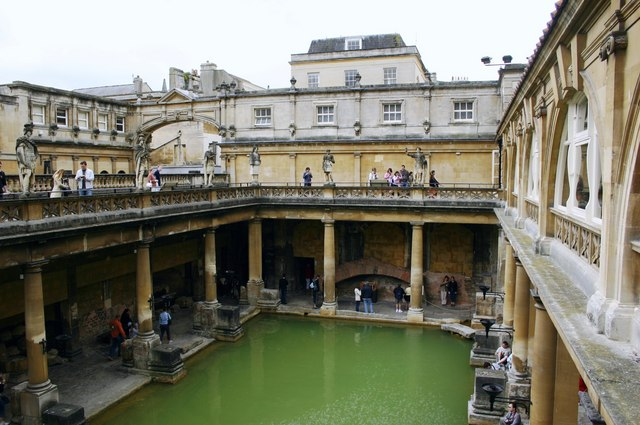 The Roman Baths at Bath Somerset