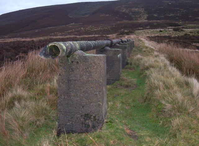 Broken Aqueduct, Tintwistle Low Moor