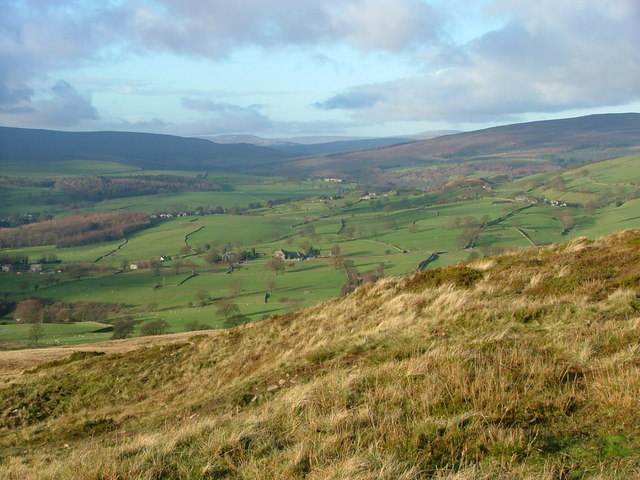 The view NW from Beamsley Beacon