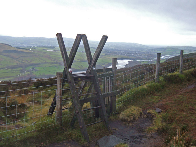Ladder Stile above Longdendale