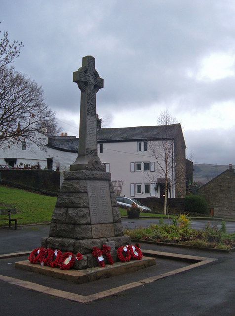 War Memorial, Tintwistle